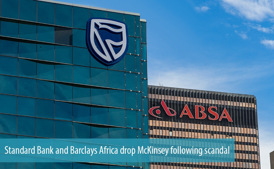 Standard Bank and Barclays Africa drop McKinsey following scandal