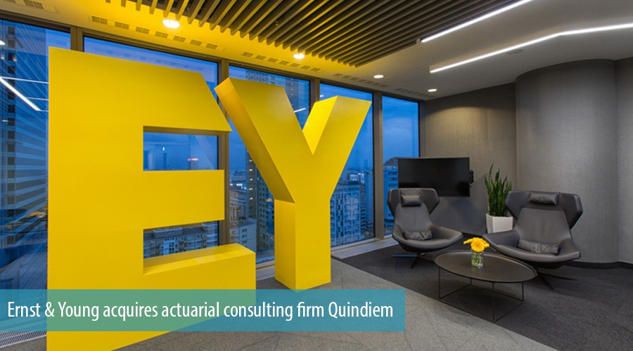 Ernst & Young acquires actuarial consulting firm Quindiem