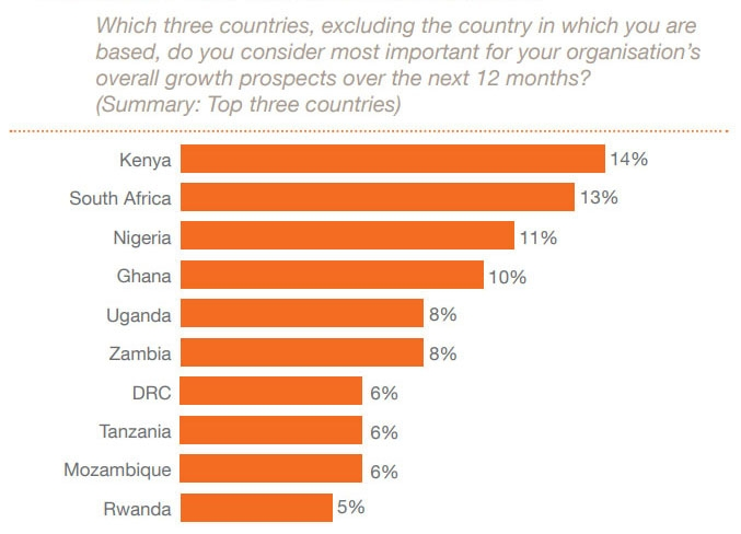 CEOs looking to other African countries for growth
