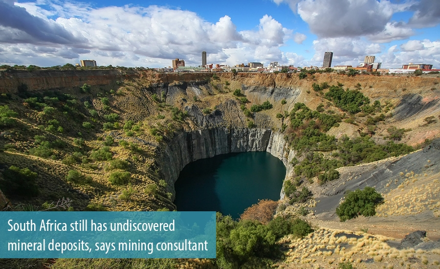 South Africa still has undiscovered mineral deposits, says mining consultant