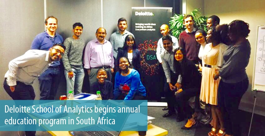 Deloitte School of Analytics begins annual education program in South Africa