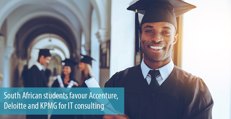 South African students favour Accenture, Deloitte and KPMG for IT consulting