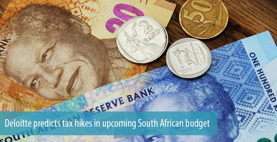 Deloitte predicts tax hikes in upcoming South African budget