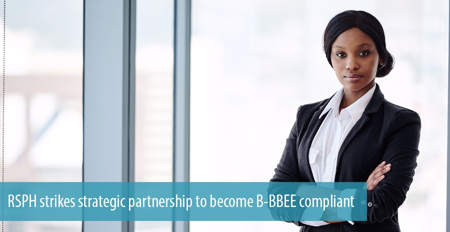 RSPH strikes strategic partnership to become B-BBEE compliant