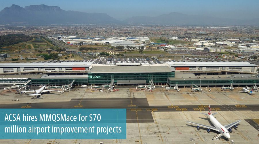 ACSA hires MMQSMace for $70 million airport improvement projects