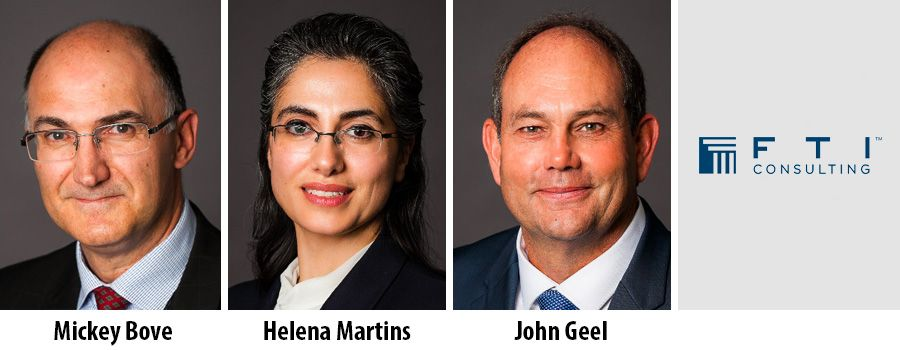 Three new Senior Managing Directors to join FTI SA's Forensic & Litigation division