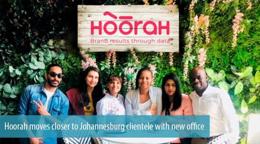 Hoorah moves closer to Johannesburg clientele with new office