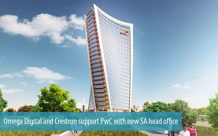 Omega Digital and Crestron support PwC with new SA head office