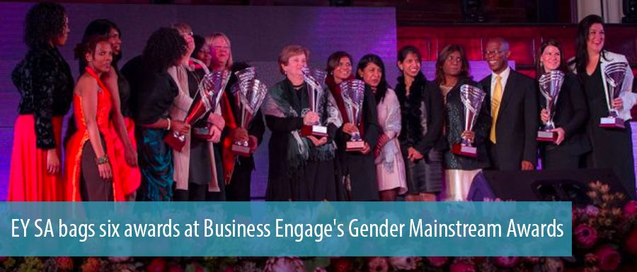 EY SA bags six awards at Business Engage's Gender Mainstream Awards