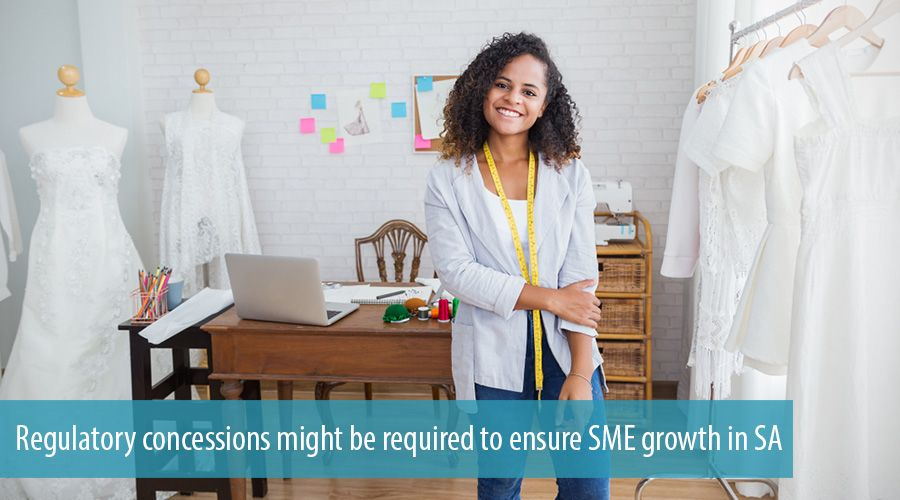 Regulatory concessions might be required to ensure SME growth in SA