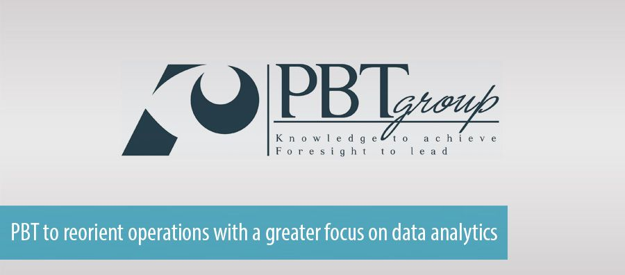 PBT to reorient operations with a greater focus on data analytics