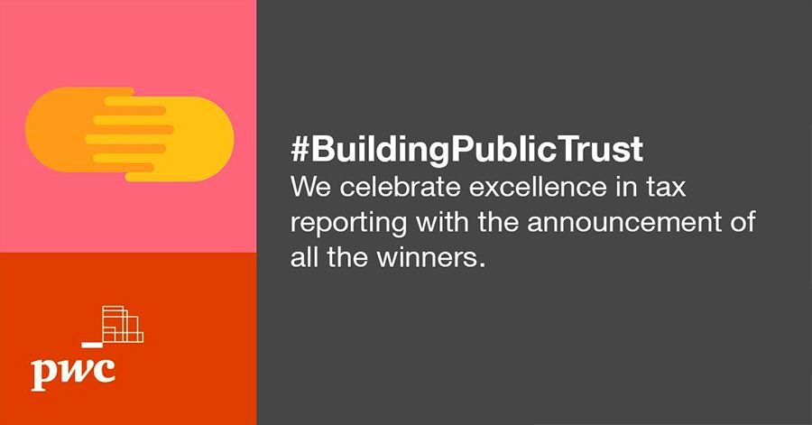 PwC announces this year's winners for Building Public Trust Awards