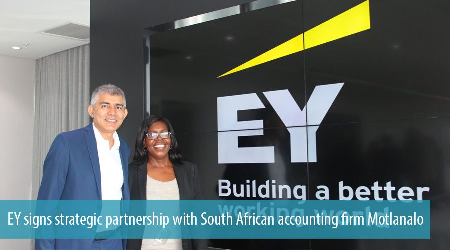 EY signs strategic partnership with South African accounting firm Motlanalo