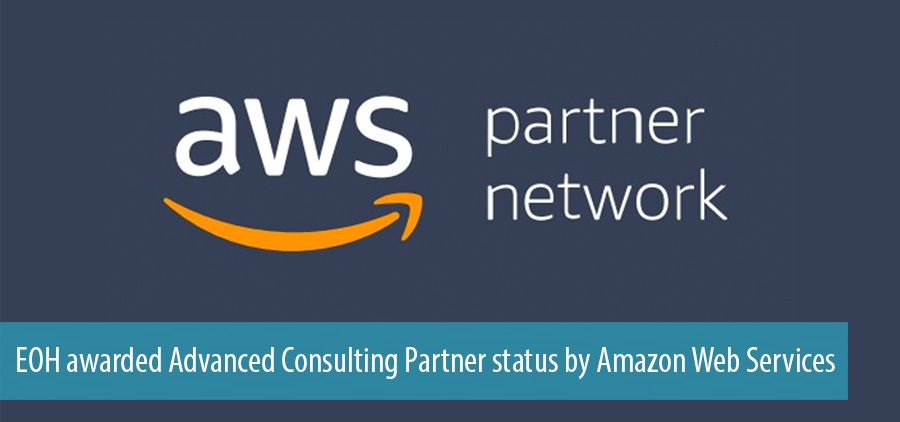 EOH awarded Advanced Consulting Partner status by Amazon Web Services