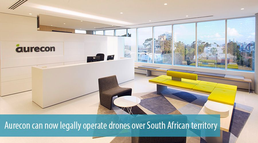 Aurecon can now legally operate drones over South African territory