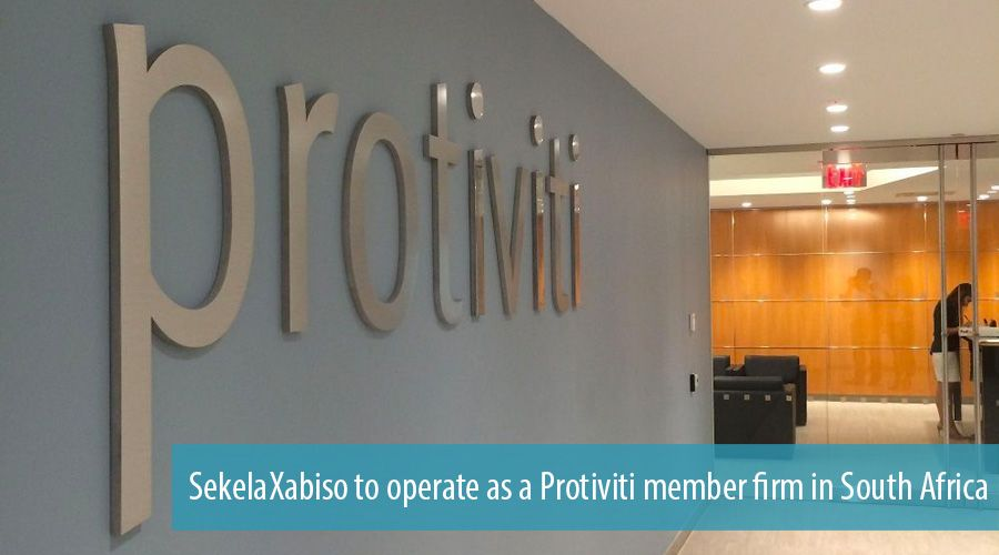 SekelaXabiso to operate as a Protiviti member firm in South Africa