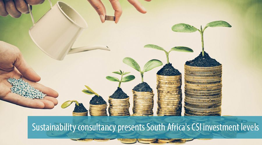 Sustainability consultancy presents South Africa's CSI investment levels