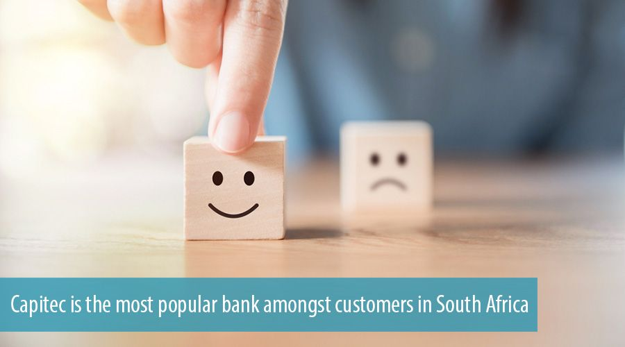 Capitec is the most popular bank amongst customers in South Africa