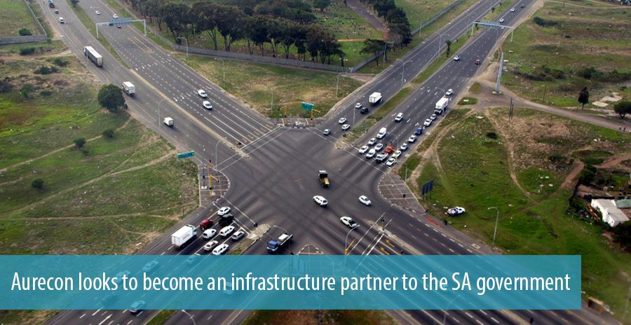 Aurecon looks to become an infrastructure partner to the SA government