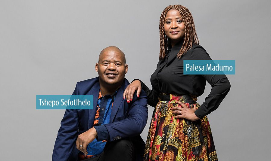 Palesa Madumo and Tshepo Sefotlhelo take the helm at Vuma Reputation Management