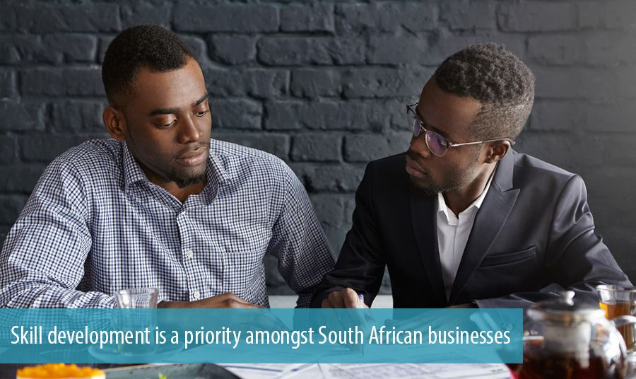 Learning and skill development is a priority amongst South African businesses