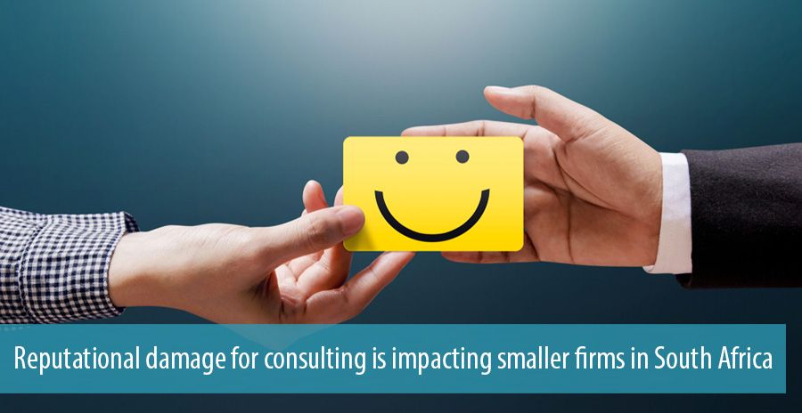 Reputational damage for consulting is impacting smaller firms in South Africa