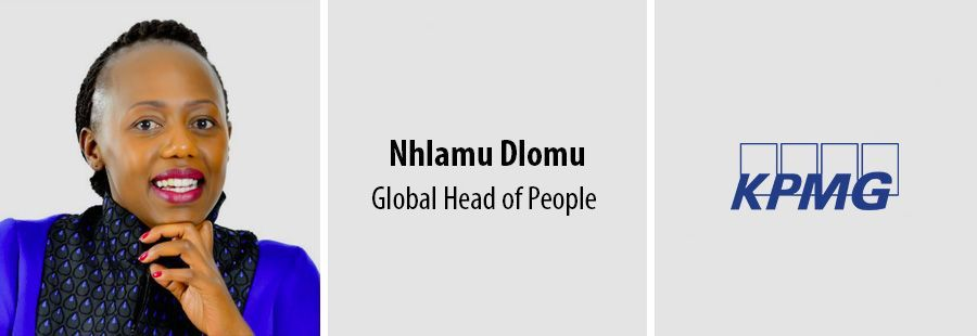 Nhlamu Dlomu, Global Head of People - KPMG