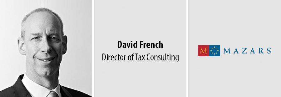 David French - Director of Tax Consulting at Mazars