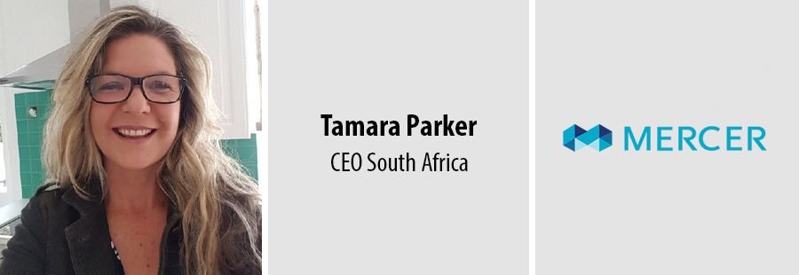 Tamara Parker, CEO Mercer South Africa