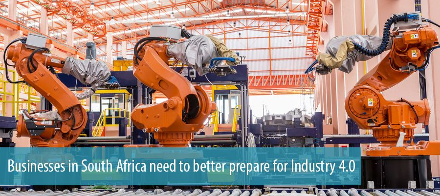 Businesses in South Africa need to better prepare for Industry 4.0
