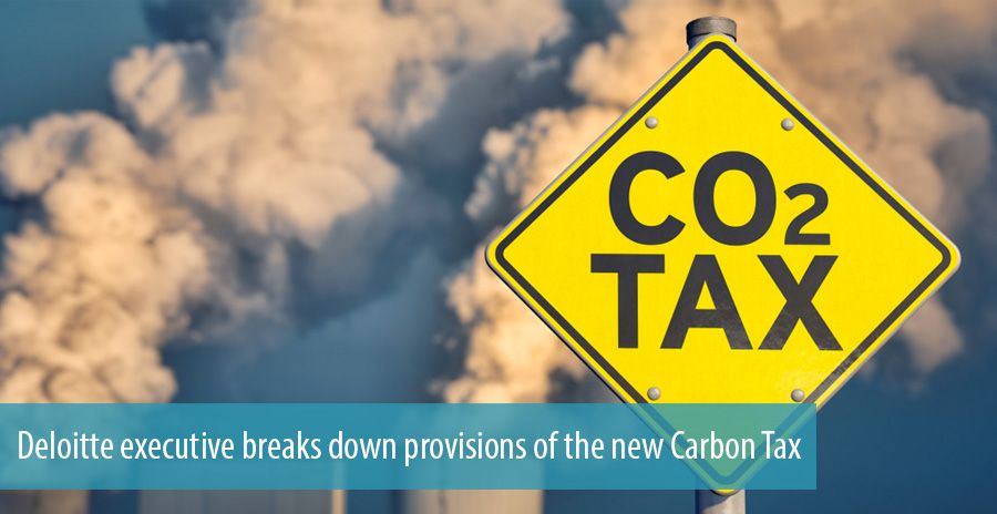 Deloitte executive breaks down provisions of the new Carbon Tax