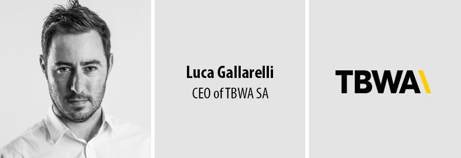 Luca Gallarelli, CEO of TBWA South Africa