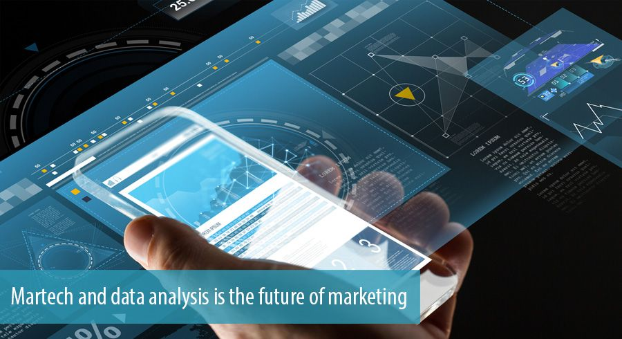 Martech and data analysis is the future of marketing