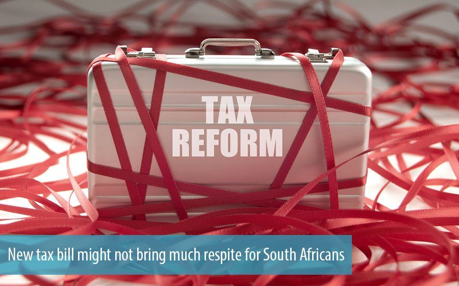 New tax bill might not bring much respite for South Africans