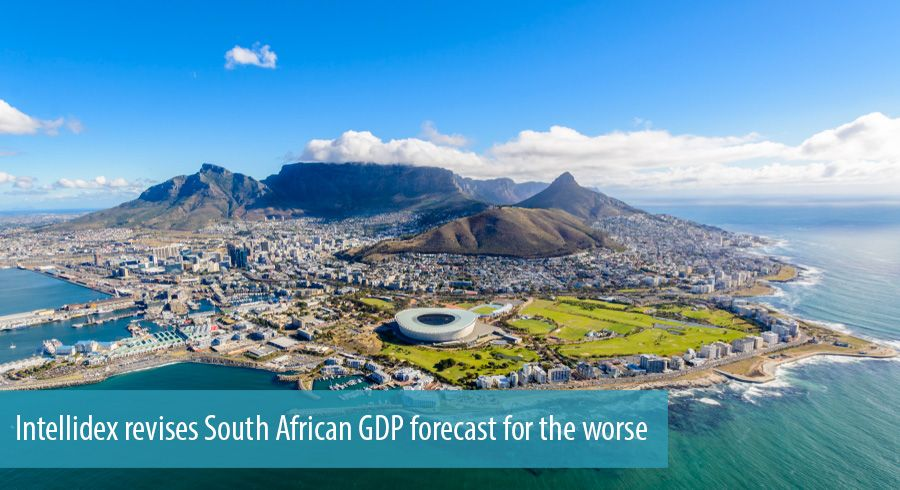 Intellidex revises South African GDP forecast for the worse