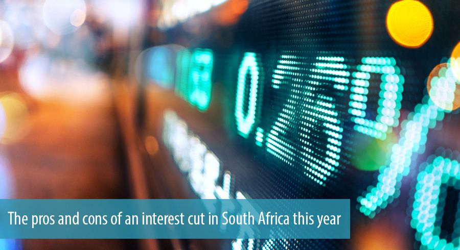 The pros and cons of an interest cut in South Africa this year