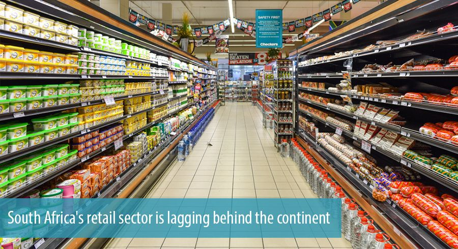 South Africa's retail sector is lagging behind the continent