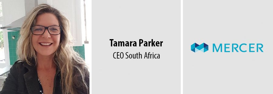 Tamara Parker, CEO of Mercer South Africa