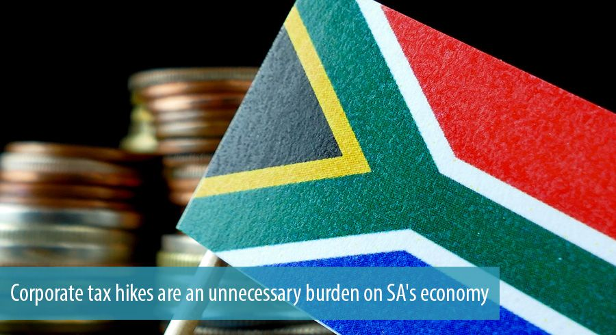 Corporate tax hikes are an unnecessary burden on SA's economy