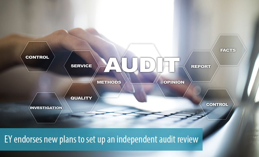 EY endorses new plans to set up an independent audit review