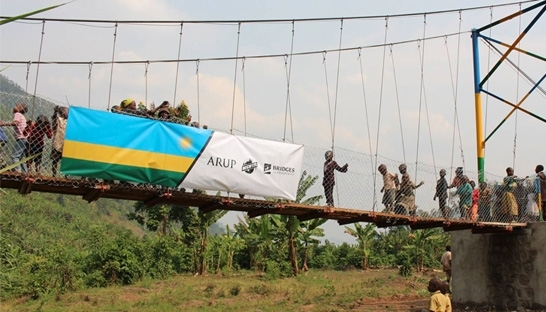 Arup and Bechtel build bridges with Rwandan communities