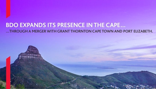 Cape Town and Port Elizabeth offices of Grant Thornton join BDO