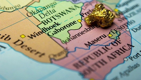 South Africa is the most costly country for gold mining