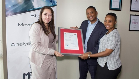 M2TD receives quality certification from international standards body BSI