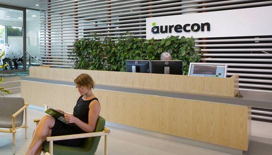 Aurecon ranked SA's 10th best engineering company to work for
