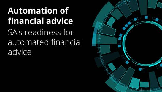 The scope of automation in South Africa's financial advisory sector