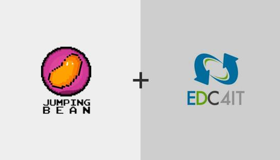 Jumping Bean and EDC4IT collaborate to offer training and consulting services