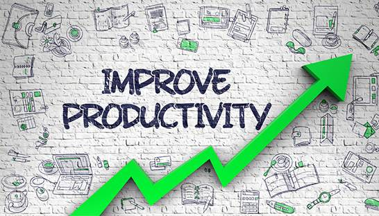 Increasing productivity is the way to go for financial services firms