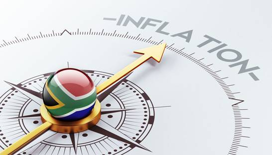 Inflation rates in South Africa appear to be balanced and under control