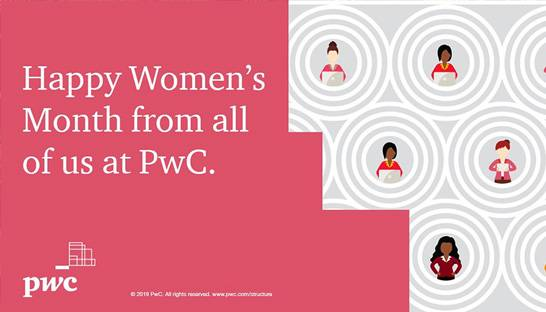 PwC representatives discuss gender balance as women's month kicks off
